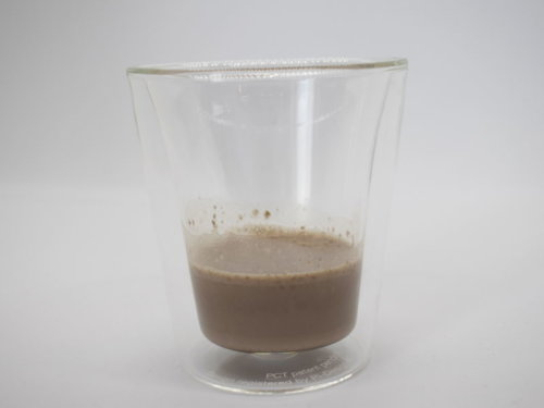 [DNS] プロテインホエイ100(チョコレート風味) 牛乳割り